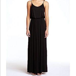 Lush All in Favor Black Maxi Dress